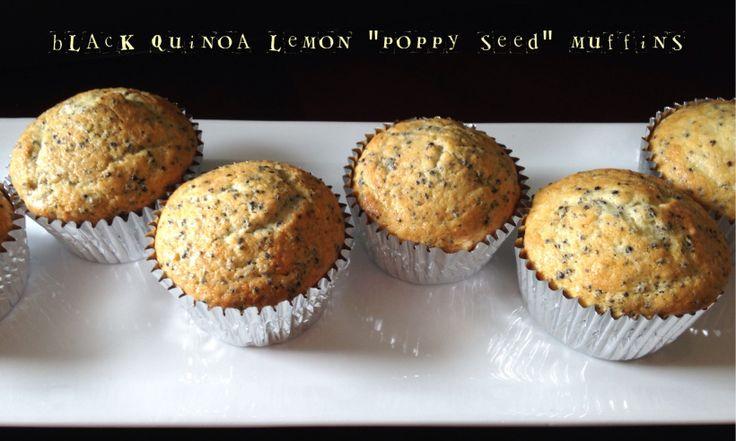 "Gluten Free Lemon ""Poppy Seed"" Muffins | Energy We Bring | Pinterest"