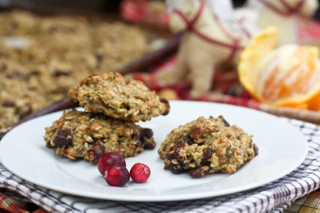 Healthy Oatmeal Cookies in Orange Cranberry | Recipe