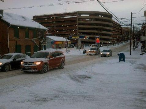 Lancaster January 3,2014 snowstorm