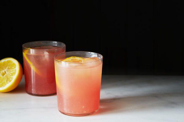 Boozy Watermelon Rosemary Lemonade | Recipe