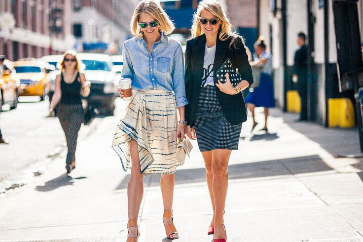 Street Style From Day Two of New York Fashion Week - NYFW Spring 2014 HB & IndreRock