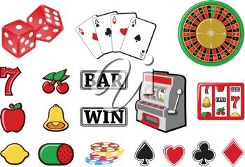 casino collection | clip art | Pinterest