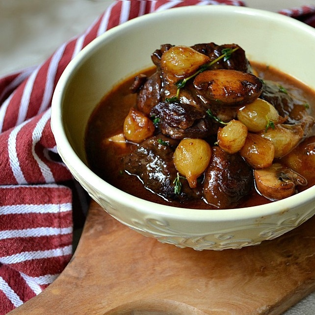 Julia Child's Beef Bourguignon - The one to die for! Nothing more soul ...