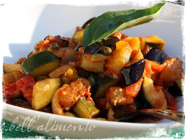 Eggplant Caponata | YUMMY | Pinterest