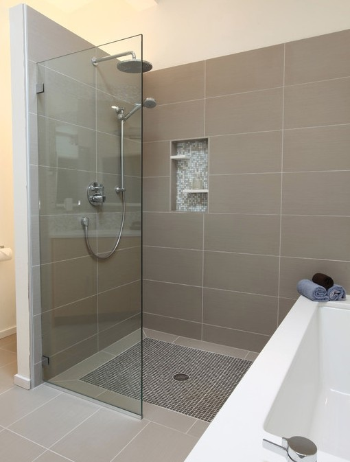 shower next to bath bathroom laundry pinterest bath next to shower inhabit pinterest