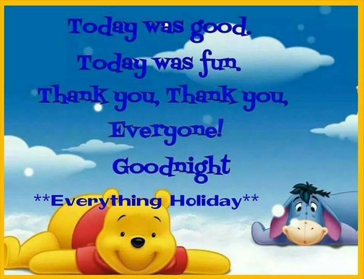 Goodnight | Winnie da Pooh | Pinterest