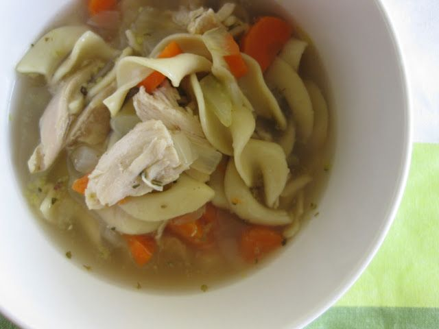 Serves Two: Roasted Chicken Noodle Soup | Recipes | Pinterest