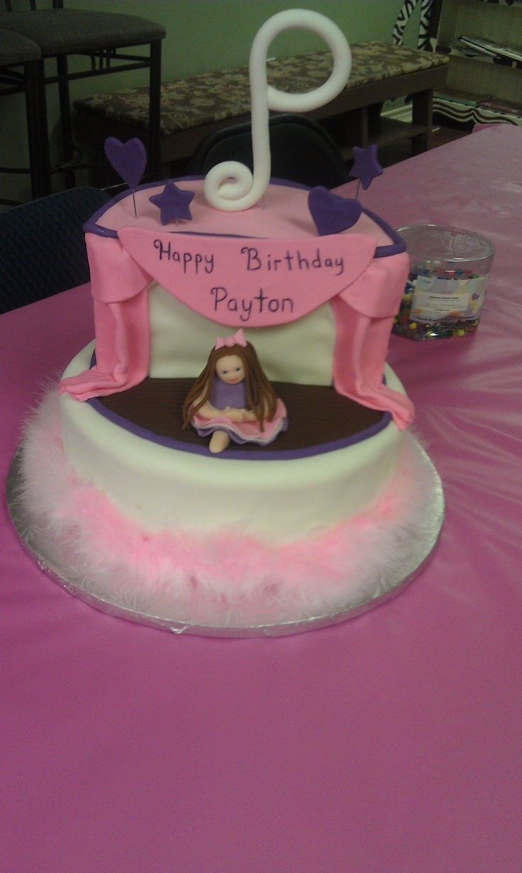 Dance Party Cake Images : Dance Birthday Cake KID S stuff! Pinterest