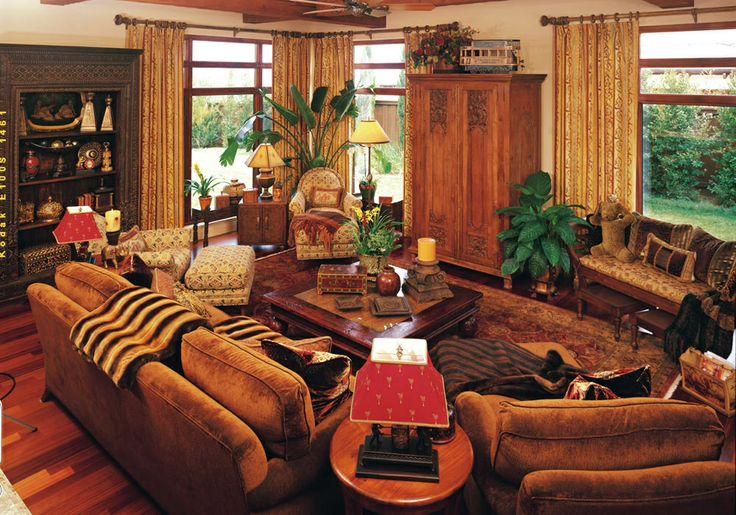 Old World Decor Rustic Living Room Pinterest