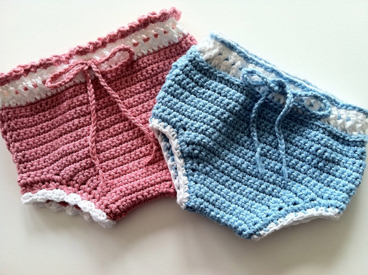 Crochet Patterns Diaper Covers : Crochet Pattern for Everyday Diaper Cover Soaker, PDF 12-044 INSTANT ...