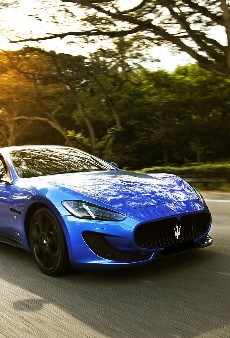 Maserati granturismo blue - photo#4