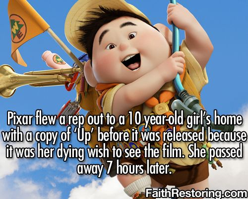 Awesome Pixar being awesome.