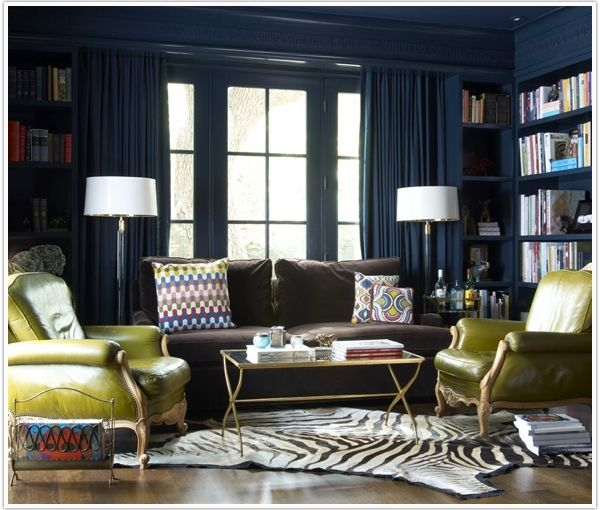 I want these chairs; love this room! In charcoal (for the office)