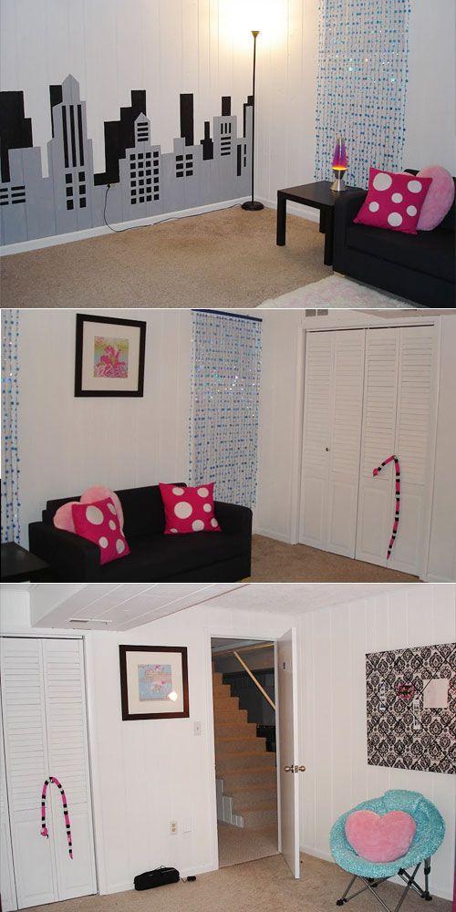 Cool Teenage Basement Room Decor Pinterest