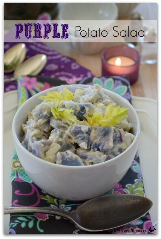 Purple Potato Salad | Recipe