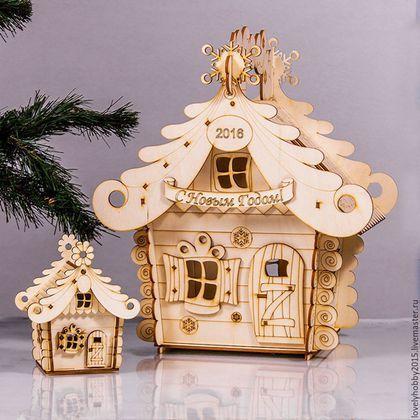 Маленький домик из фанеры