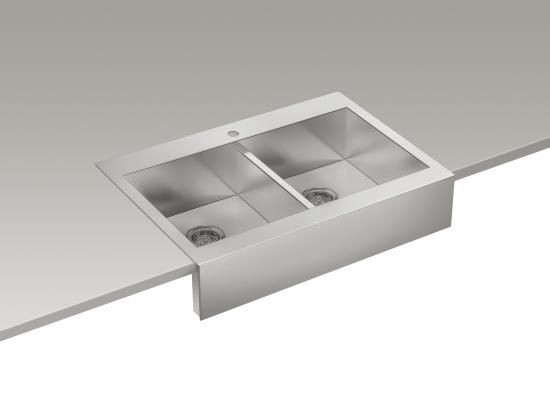 Kohler Stainless Apron Sink : Stainless Steel Apron Sink Future House Pinterest