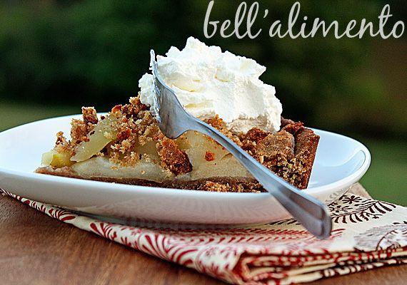 "Torta di Mele (Apple Torte with Breadcrumb-Hazelnut Crust) (9"" tart ..."
