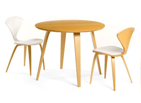 Cherner 40 Beech Round Dining Table Furniture Pinterest