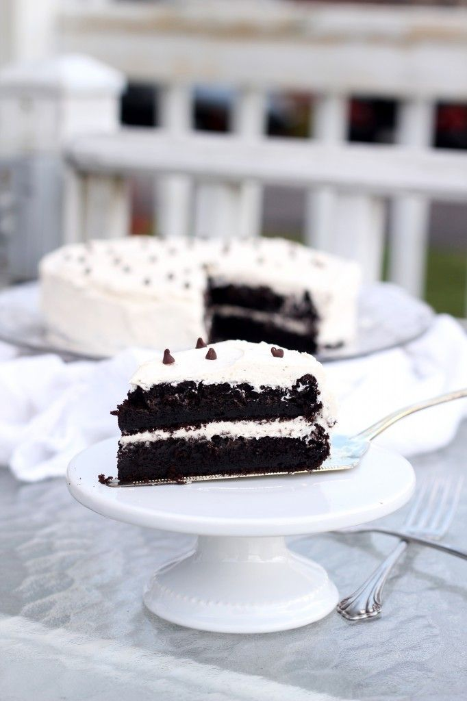 Devil's Food Cake with Buttercream Icing | Recipe