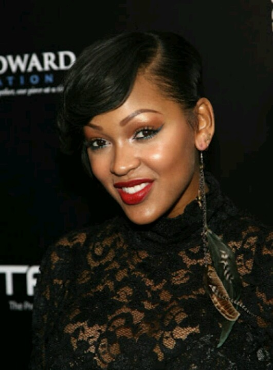 Meagan Good...short hairstyle Im obsessed with MEAGAN GOOD ...