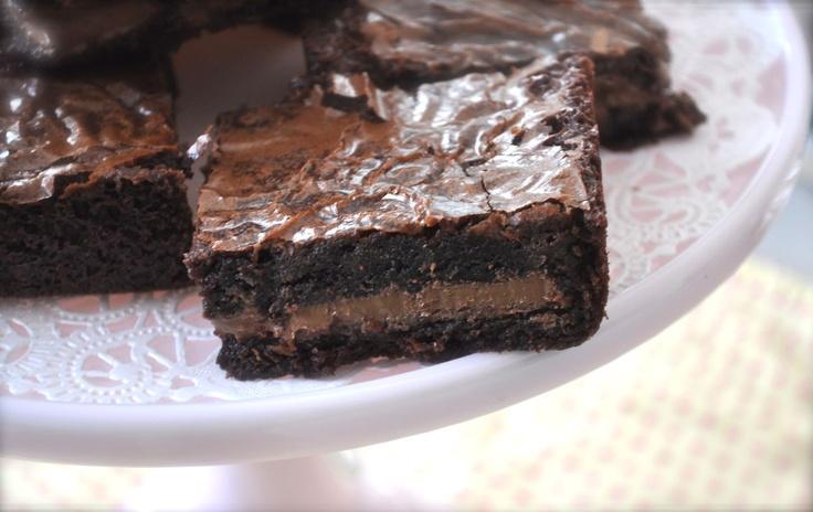 Symphony Brownies, layer half of brownie mix in 9 x 13 pan put 2 ...