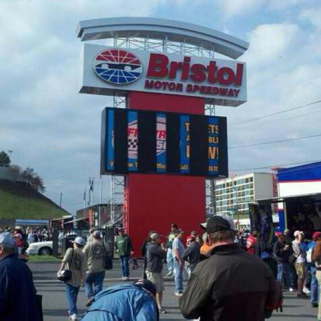 Bristol Motor Speedway Race Tracks Pinterest