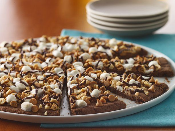 Chocolate Peanut Butter Cookie Pizza: Prep. time: 10 min. Total time ...