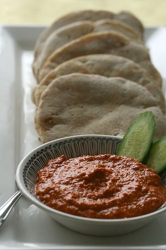 Muhammara (Roasted Red Pepper and Walnut Dip) - Crumb: A Food Blog ...