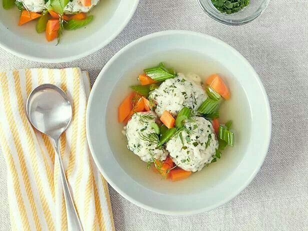 Ina Garten's Chicken Soup w/ Matzo Balls | Soup-er Salads 'n Sandwich...