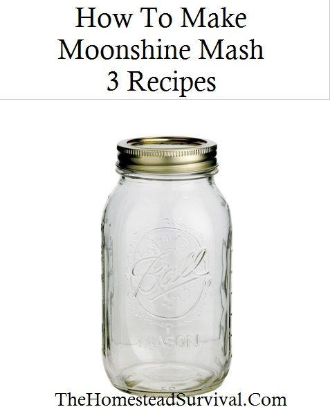 How to Make Moonshine Mash