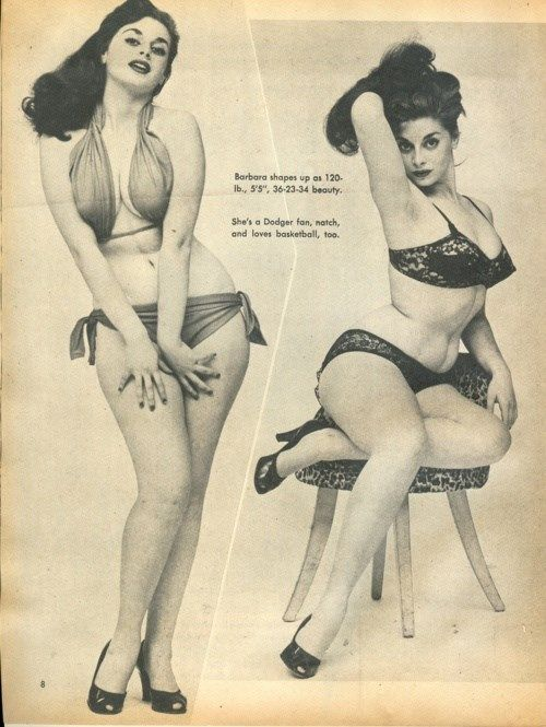 ideal female body 1950 - photo #10