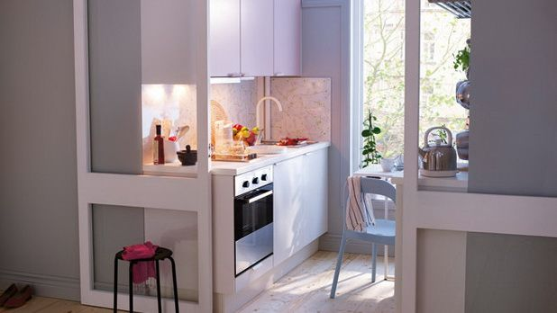 Very small kitchen design ideas for Very small kitchen decorating ideas