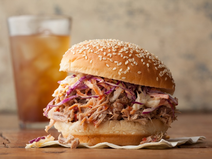 North Carolina Pulled Pork BBQ Sandwich from CookingChannelTV.com. I ...