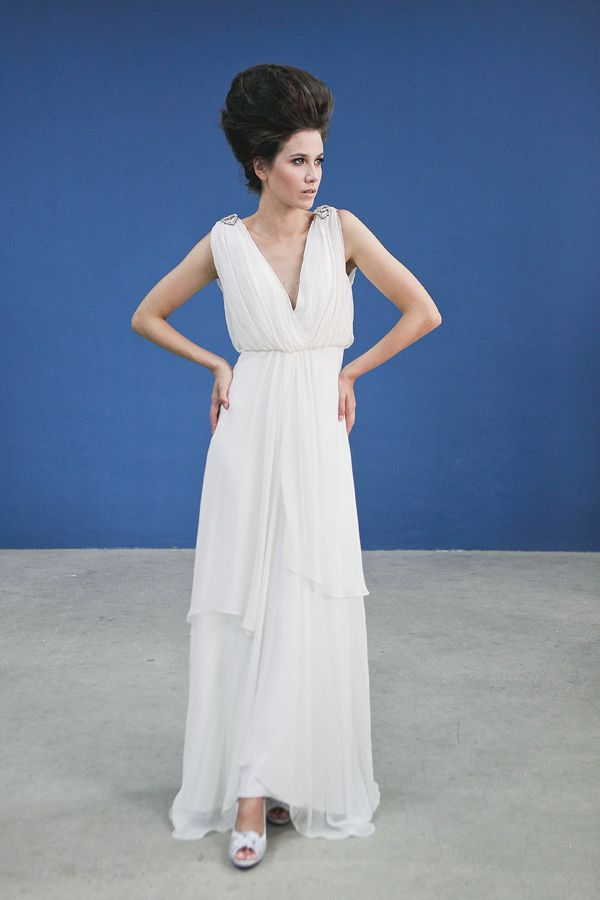 Greek goddess wedding dress wedding ideas pinterest for Greek goddess style wedding dresses
