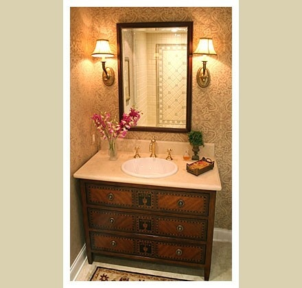 Powder Rooms Decorating Ideas Pinterest