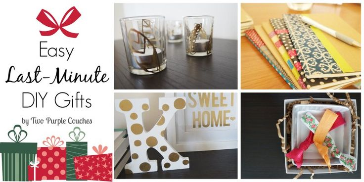 Last minute birthday gifts for friends wroc awski for Easy last minute christmas gifts to make
