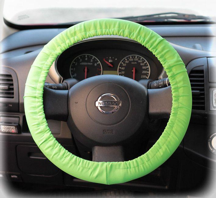 Neon green car accessories