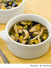 Black and White Chicken Chili Recipe | Leite's Culinaria. Made several ...