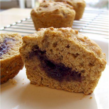 ... Go Dairy Free kitchen » Jam-Filled Snackin' Muffins (or Soda Rolls