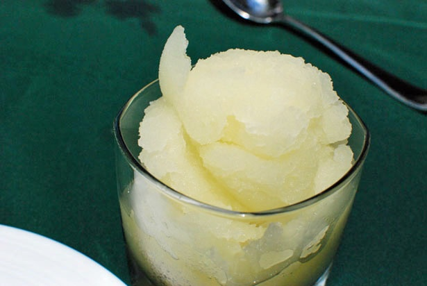 Lemon Italian Ice | Desserts :: Mousses, Custard and Ice Cream | Pint ...