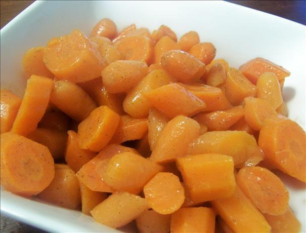 Honey-Cardamom Glazed Carrots from Food.com: Mmmm! Honey and Cardamom ...