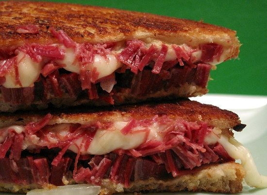 Grilled Corned Beef and Fontina Sandwiches | Recipe