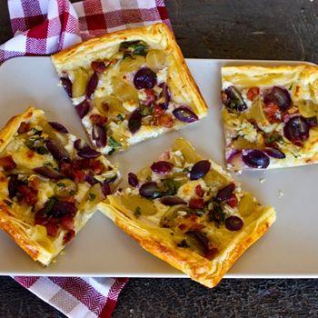 Grape Harvest Tart | Desserts | Pinterest