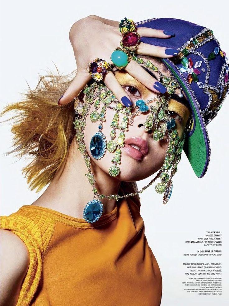 ASIAN MODELS BLOG: EDITORIAL: Xiao Wen Ju, Yumi Lambert & Sung Hee Kim in V Magazine #83, Summer 2013