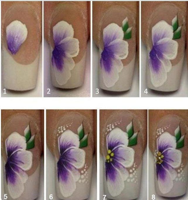 Дизайн акриловыми красками для начинающих пошагово