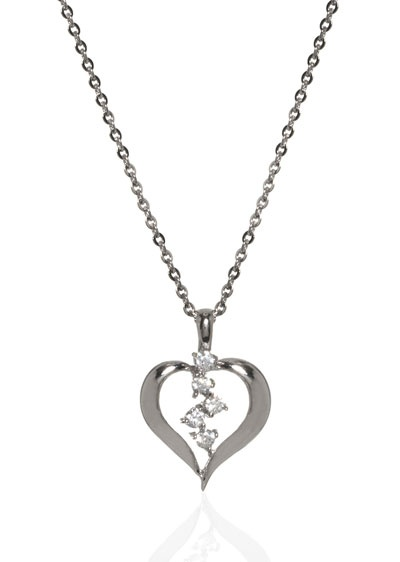 heart necklace valentines day