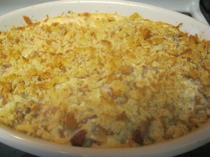 Pasta Chicken Cordon Bleu recipe