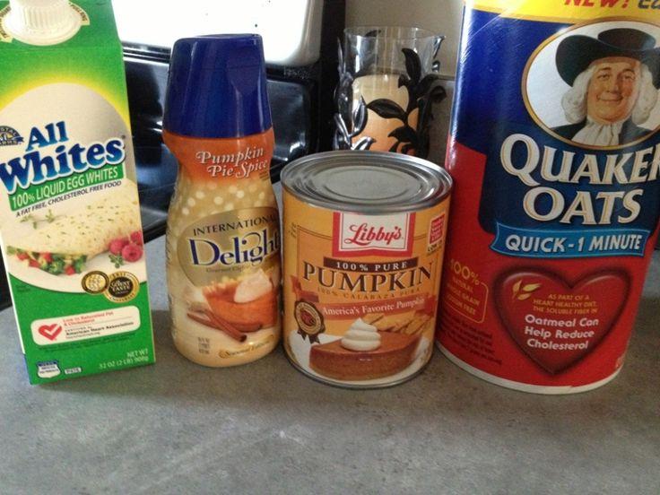 Pumpkin Pie Spice Protein Pancakes! | Food Creations | Pinterest