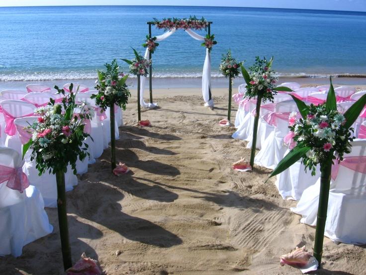 Beach Wedding In Jamaica